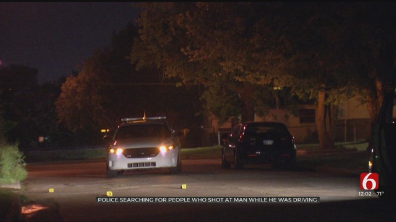 Man's Car Shot At Overnight, Tulsa Police Say