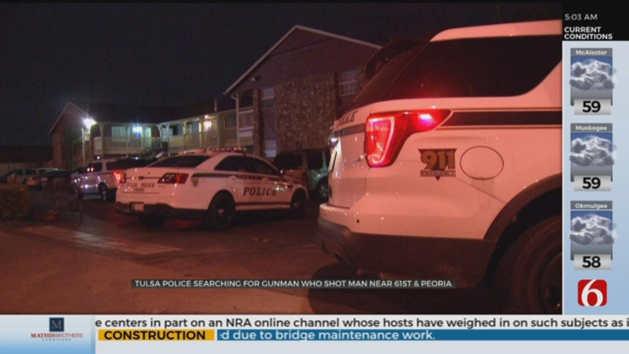 Police: Tulsa Man Is In The Hospital After Shooting