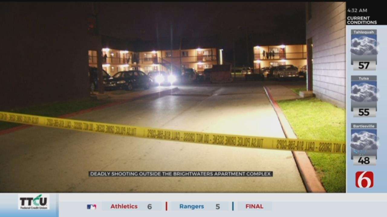 1 Dead After Shooting At Tulsa Apartments