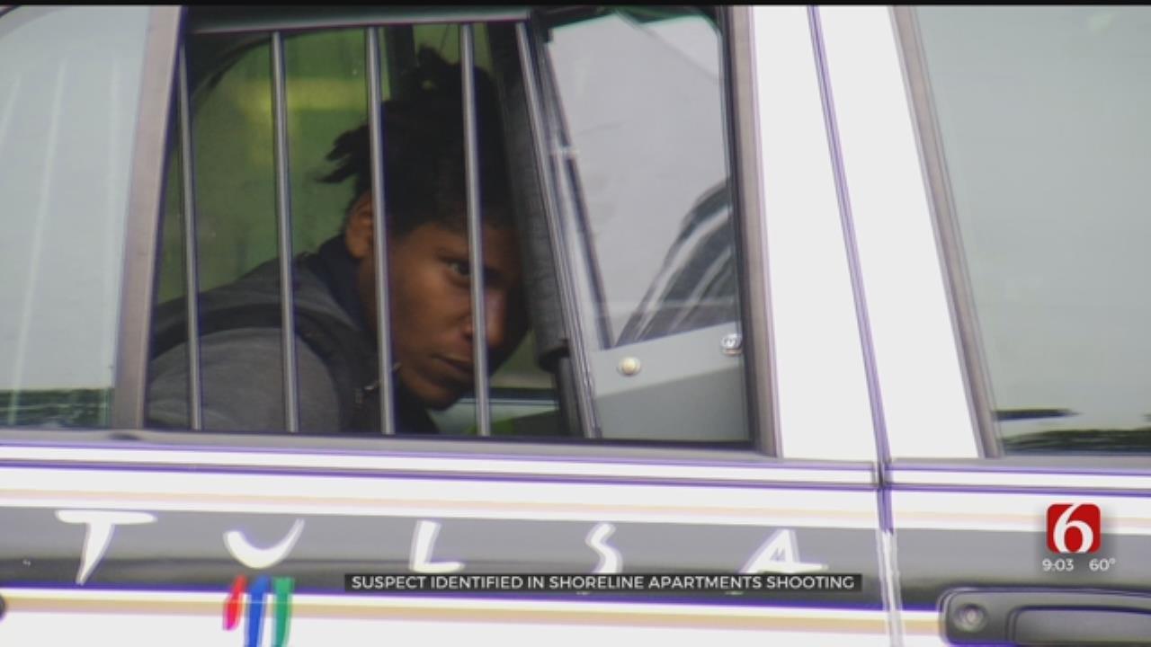 Shooting Suspect In Custody After Shooting At Tulsa Shoreline Apartments
