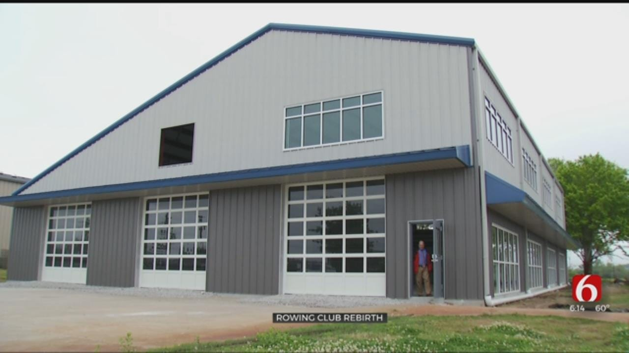 Tulsa Rowing Club Re-Opens After Devastating Fire