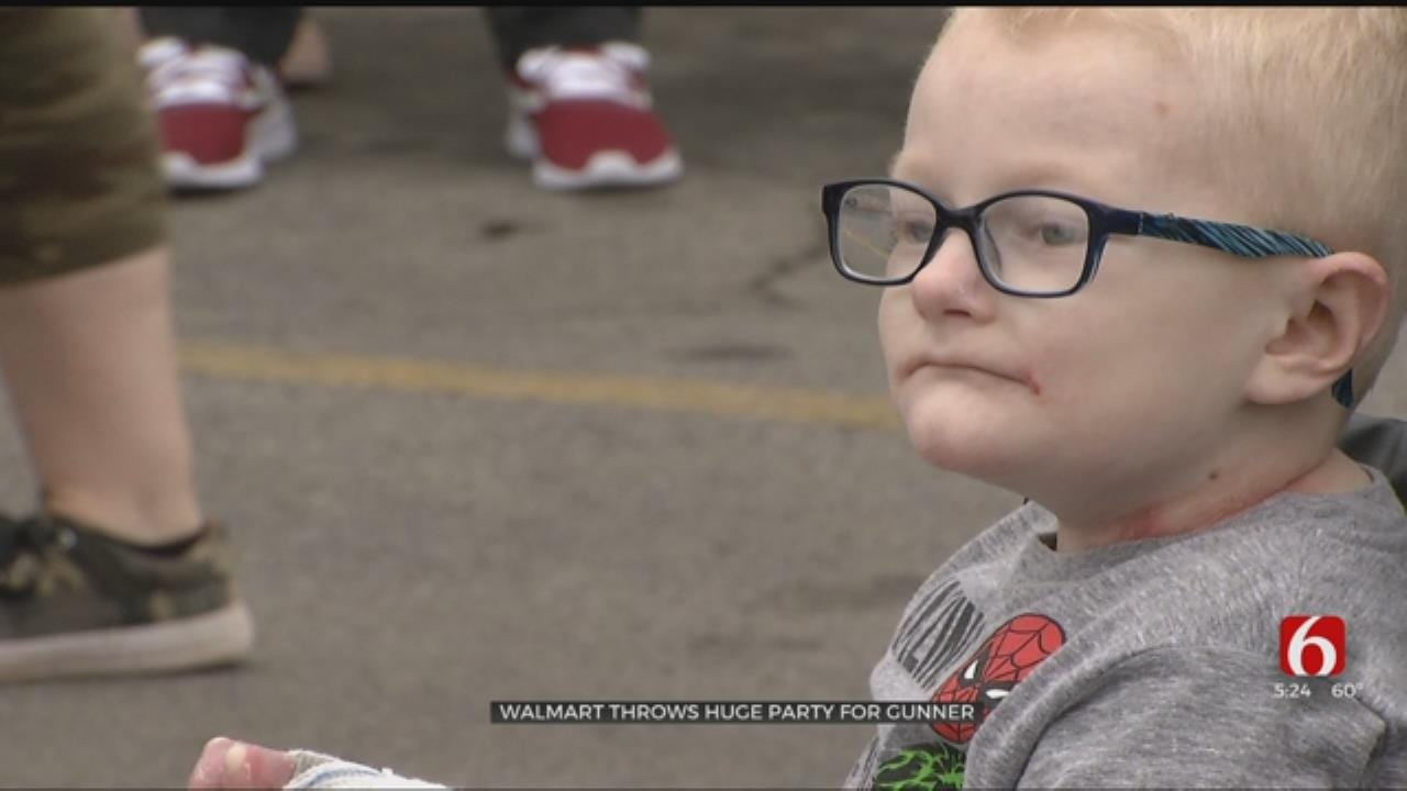 Community Honors Sapulpa First-Grader With Trucker Convoy