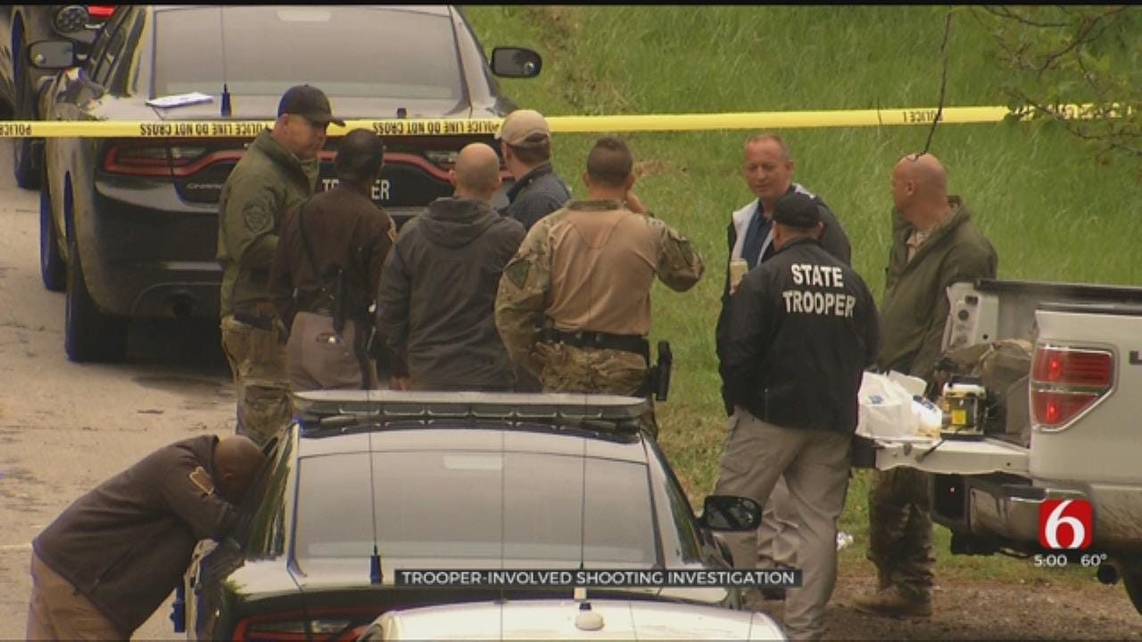 OHP Troopers Shoot At Suspect Near Sand Springs