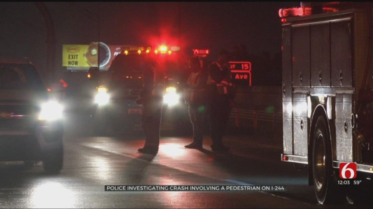 Truck Hits Tulsa Man In Wheelchair