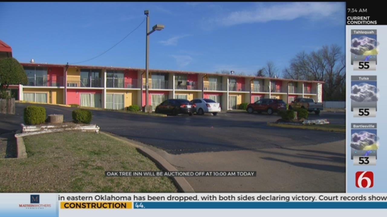 High-Crime Tulsa Motel To Be Auctioned