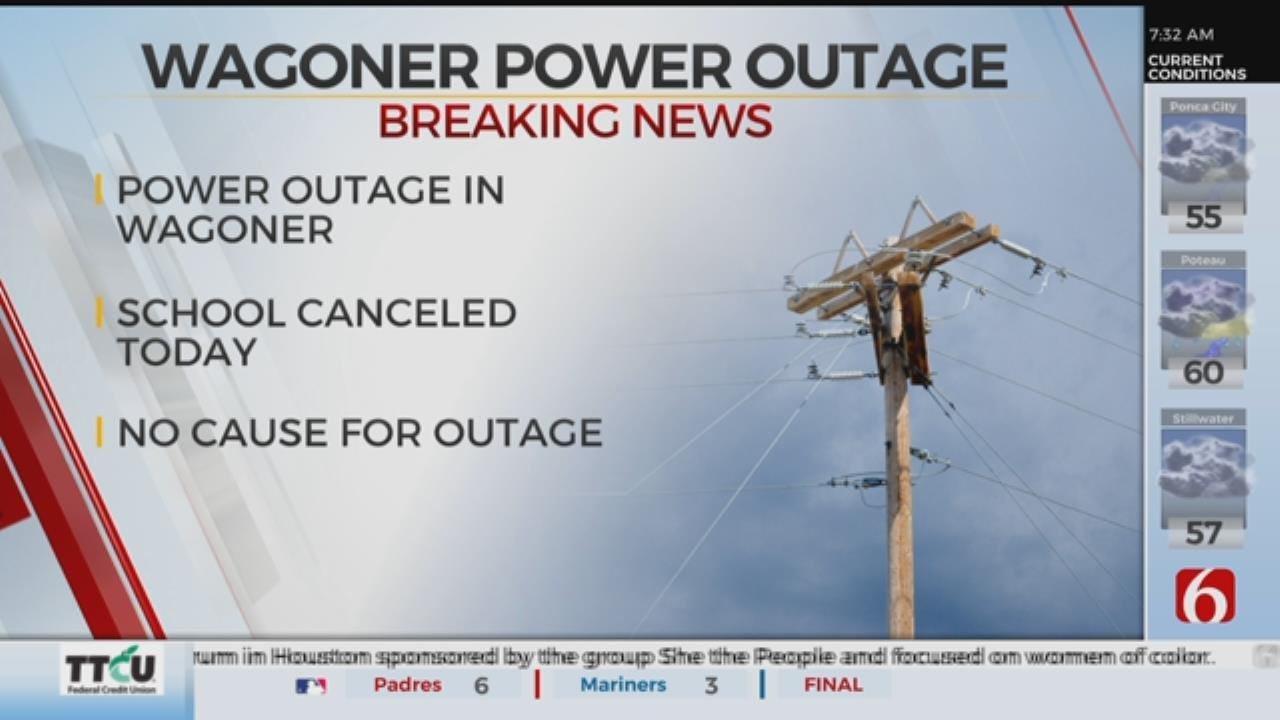 Power Outage Closes Wagoner Schools, Impacts Residents