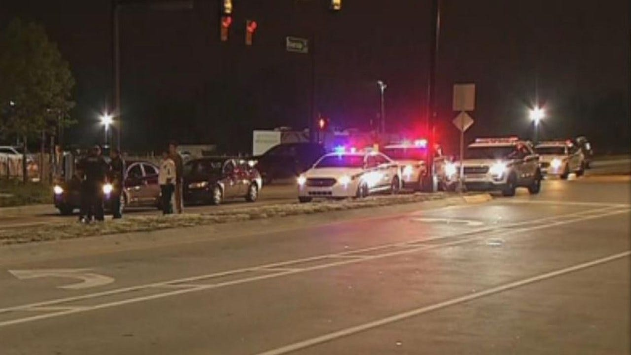 Tulsa Police Search For Person Of Interest In Deadly Hit-And-Run