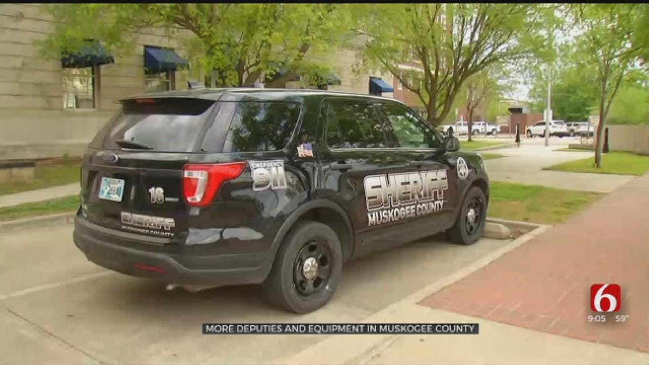 Muskogee County Sheriff's Officer Upgrades Equipment And Vehicles
