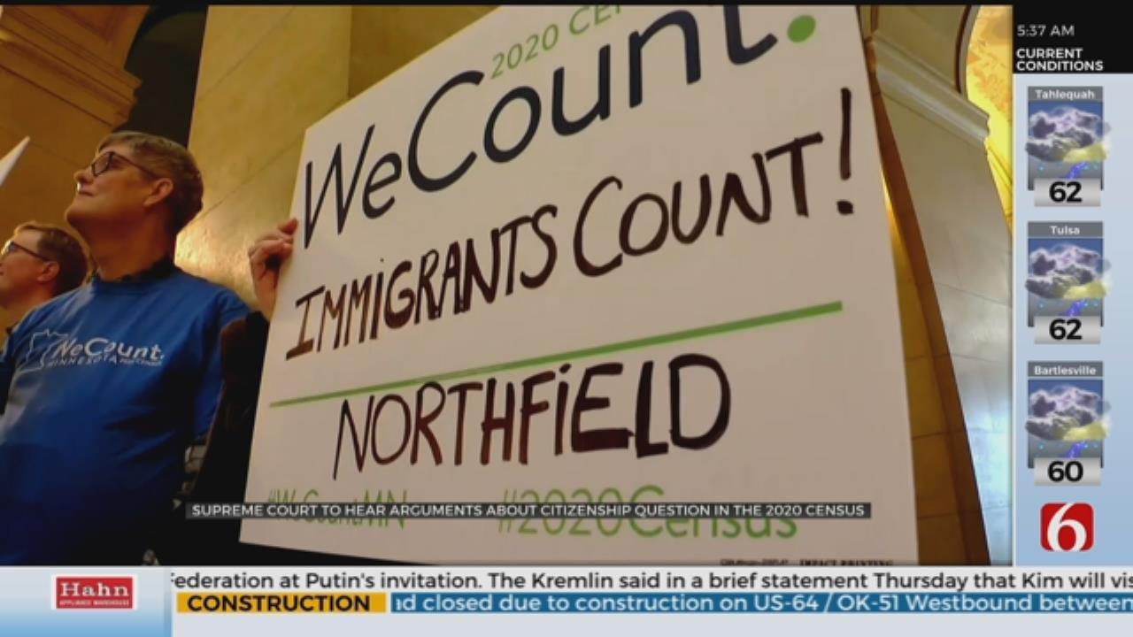Supreme Court Hears Census Question Arguments