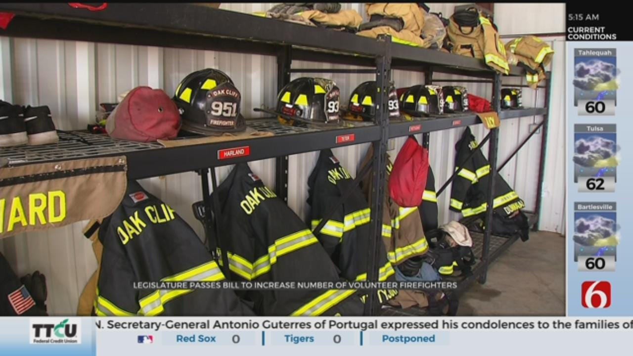 Bill Allows Retired Firefighters to Join Volunteer Departments