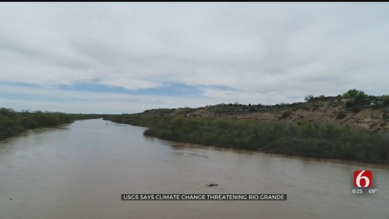 USGS Says Climate Change Is Threatening The Rio Grande
