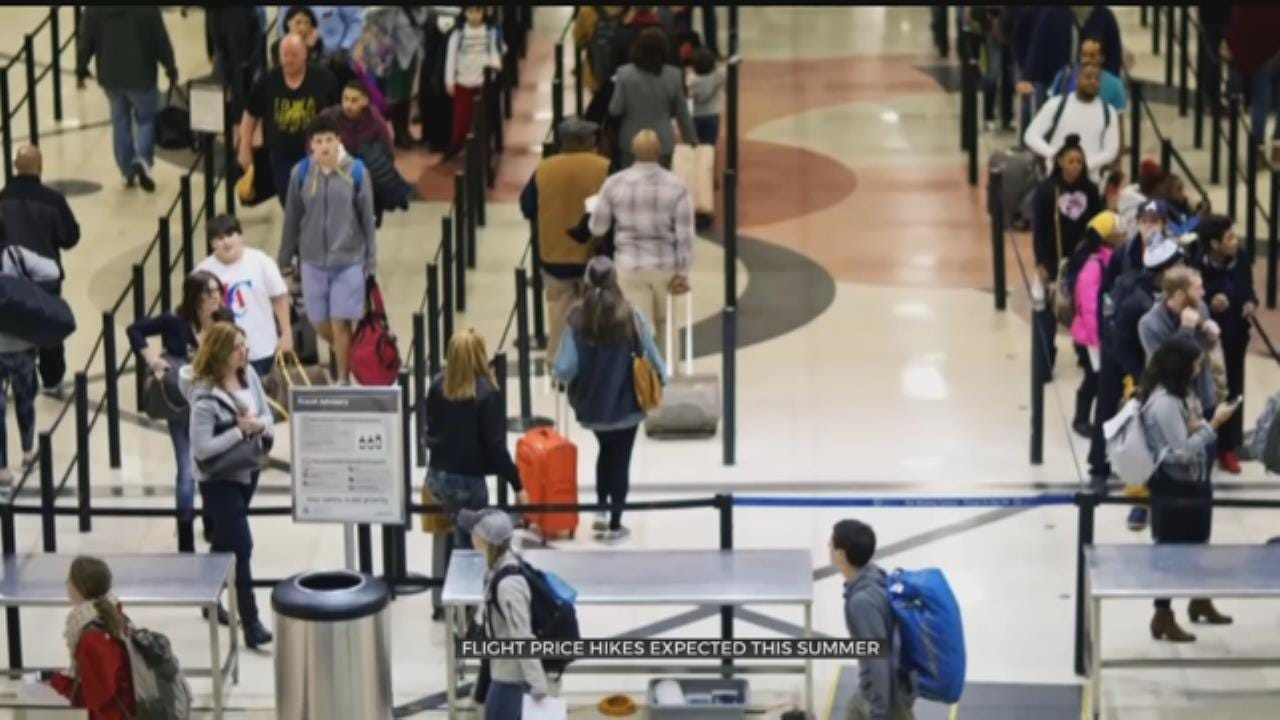 Flight Prices Set to Rise For Summer Travel