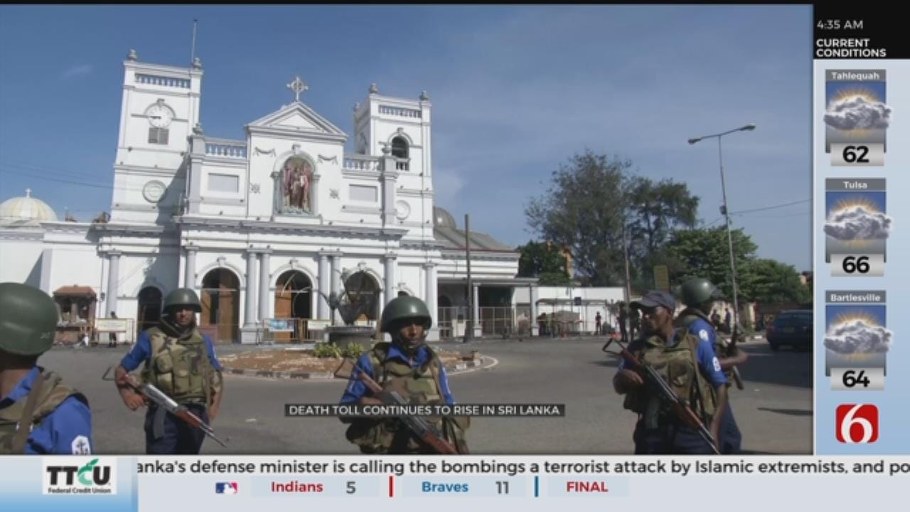 Death Toll Rises To 290 In Sri Lanka Easter Sunday Explosions