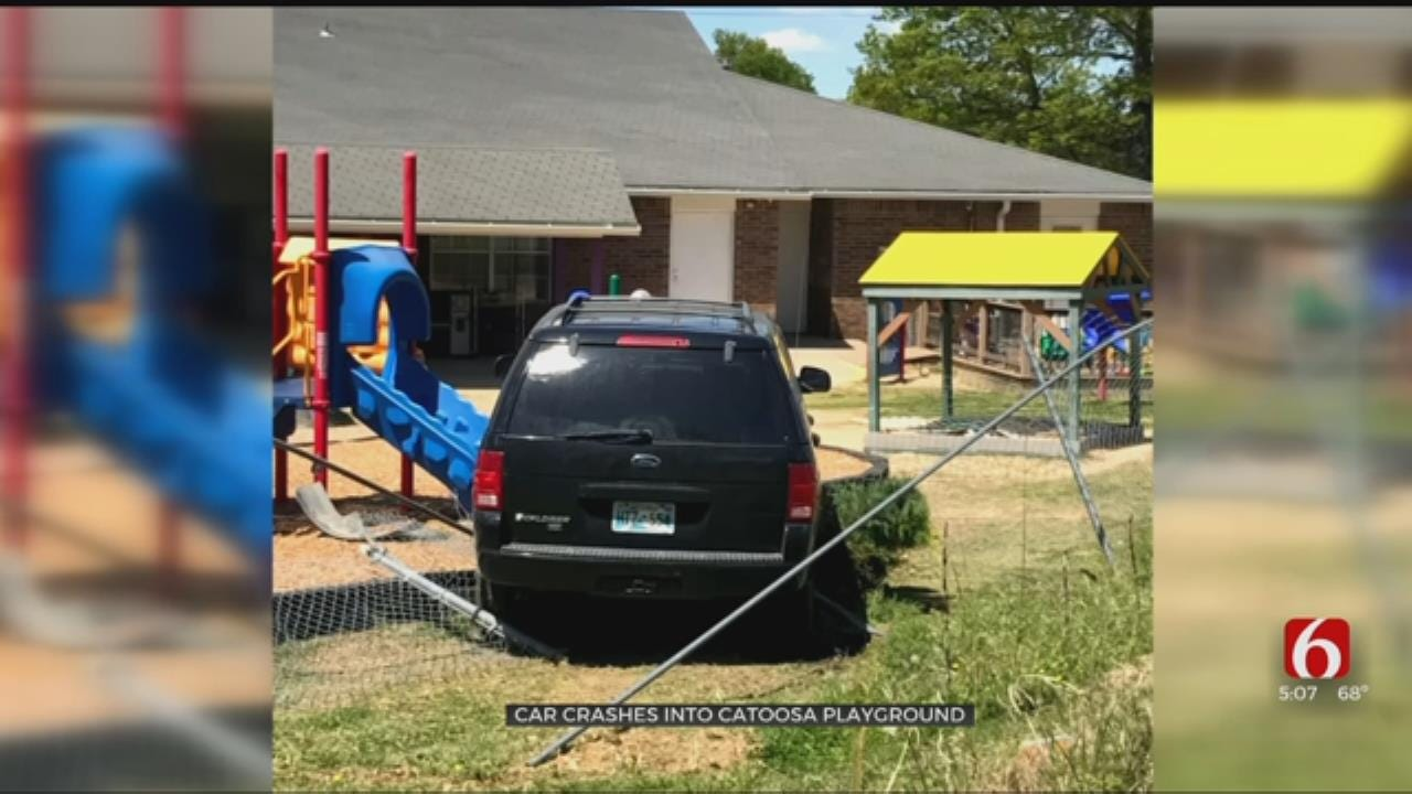 Car Crashes Into Catoosa Daycare Playground