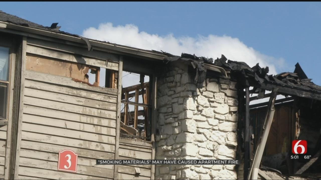 Maintenance Men Alert Residents To Tulsa Apartment Fire