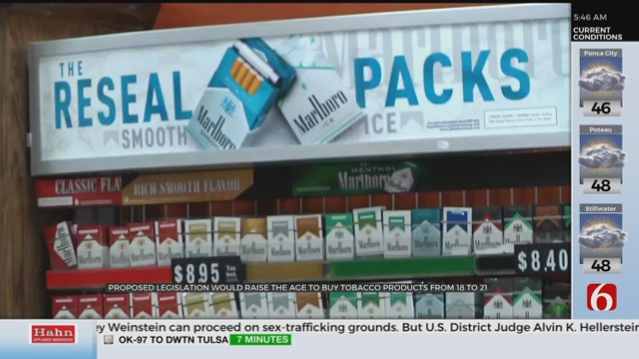 McConnell Proposes Raising Minimum Age To Buy Tobacco To 21