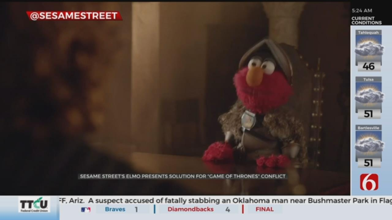 Elmo Offers Peaceful Solution to Conflict in Game Of Thrones' Westeros