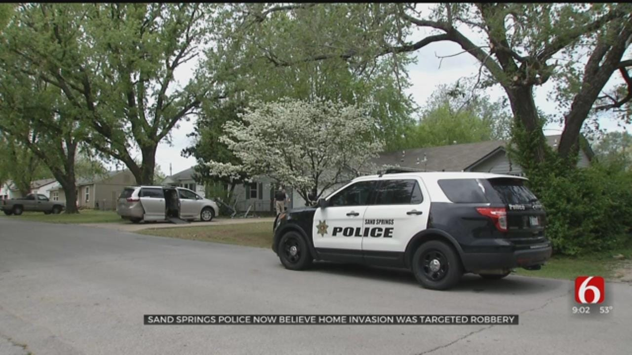 Police Say Sand Springs Home Invasion Was Not Random