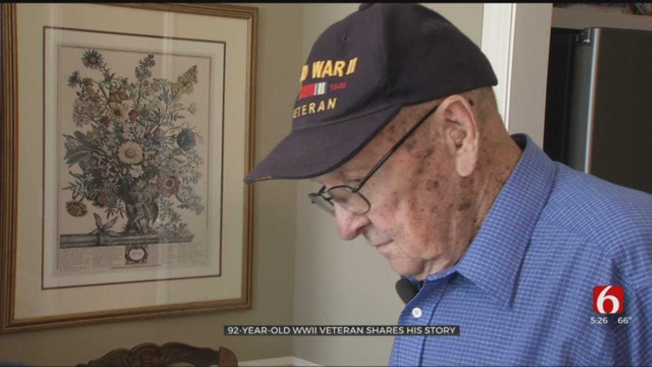 WWII Navy Vet Shares Memories Of Iwo Jima Battle