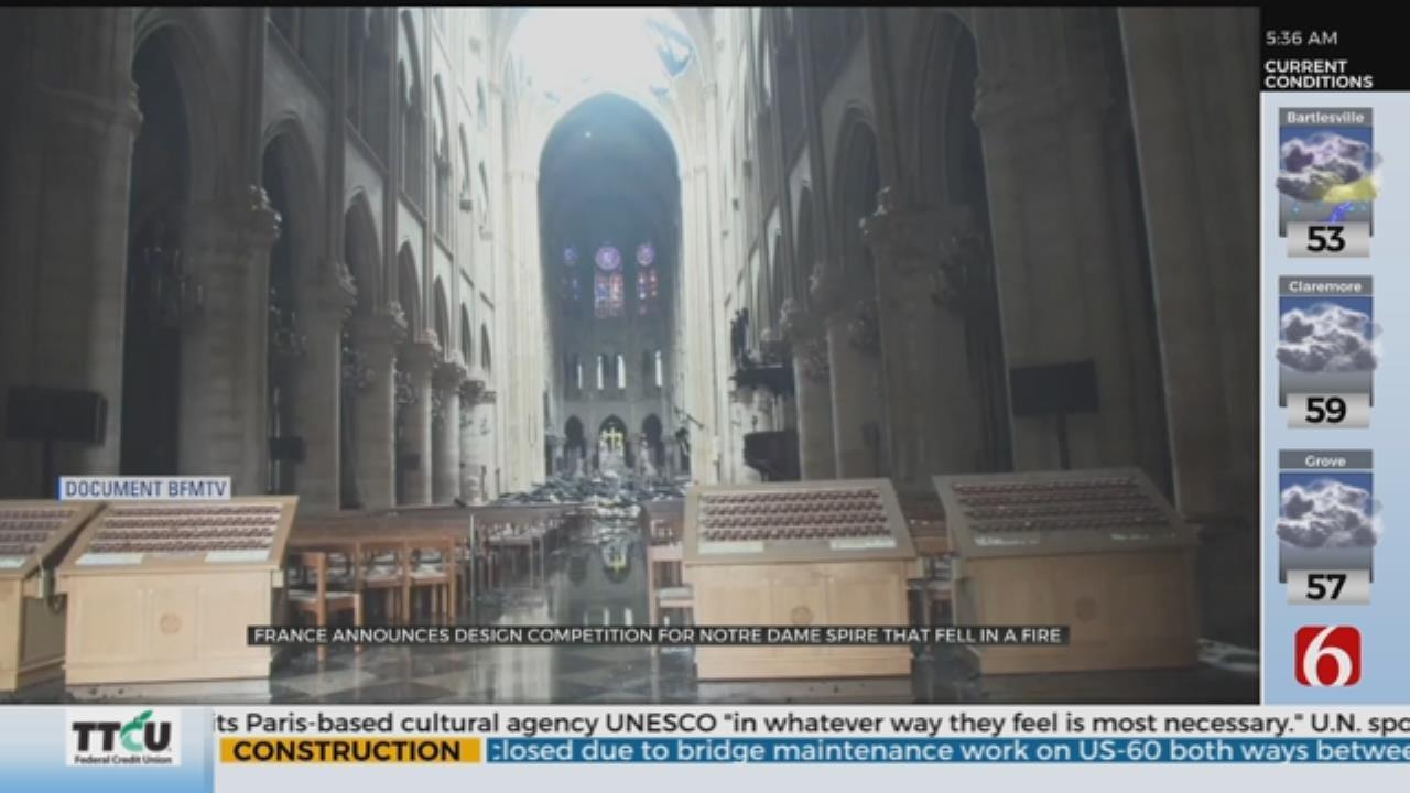 Notre Dame Spire Design Competition Announced