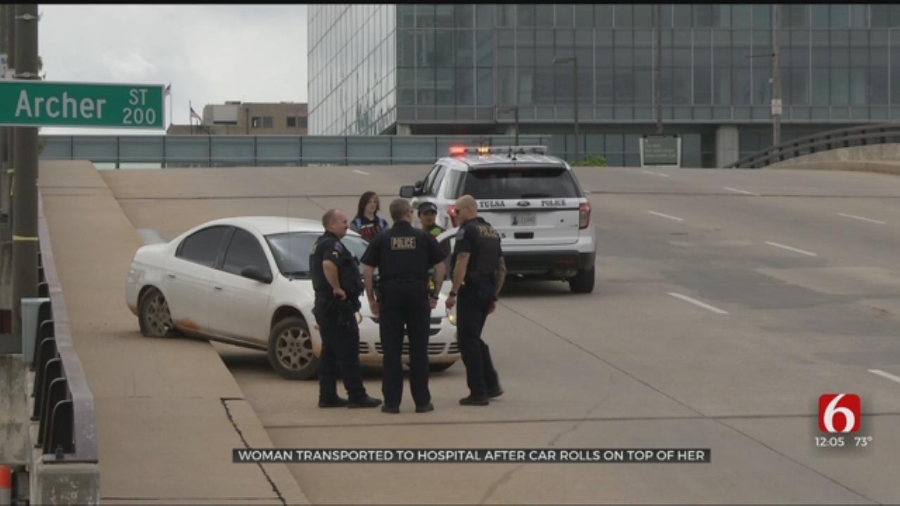 Tulsa Woman Ran Over By Own Car