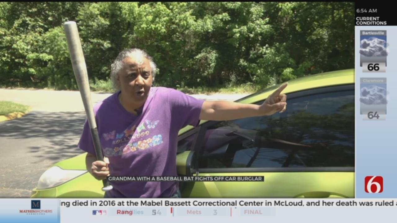 WATCH: Grandmother Chases Off Car Burglar