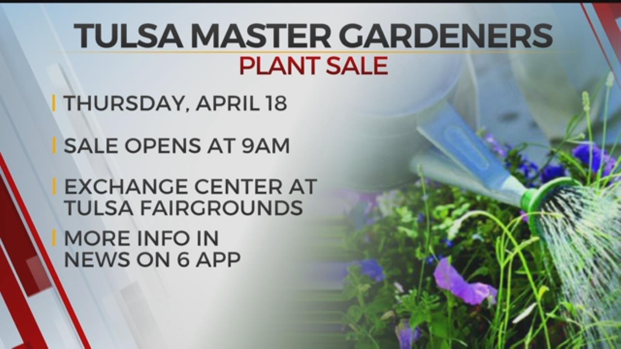 Tulsa Master Gardeners Host Annual Plant Sale
