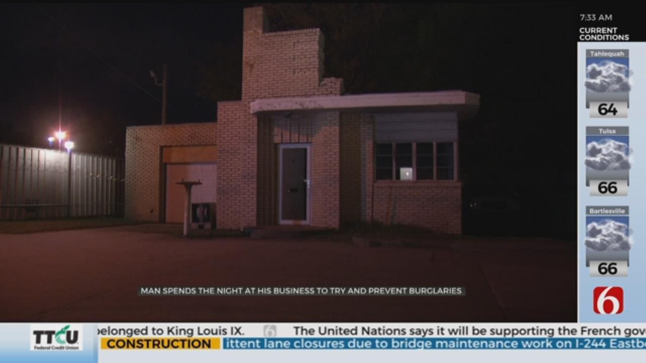 Tulsa Business Burglarized Twice in 72 hrs, Owner Tries To Catch Burglar