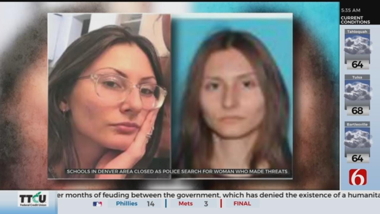 FBI Searching For Woman Accused Of Threatening Columbine High School
