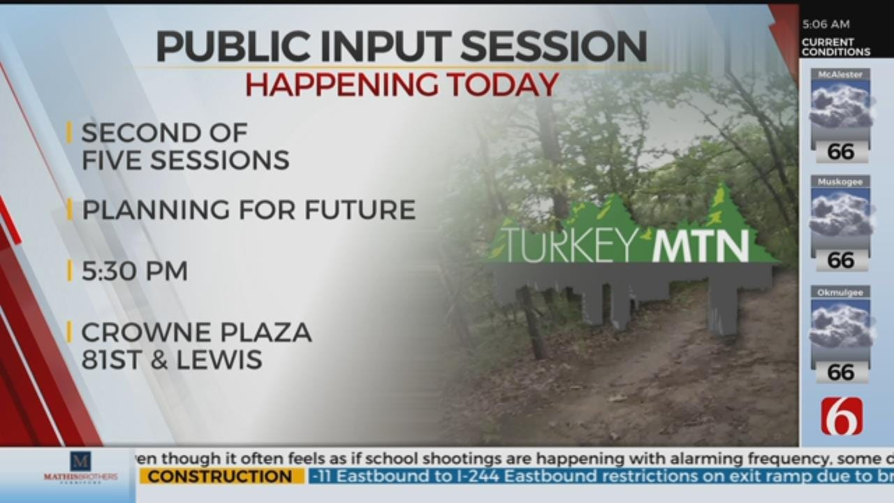 River Park Authority Holds Input Sessions About Turkey Mountain