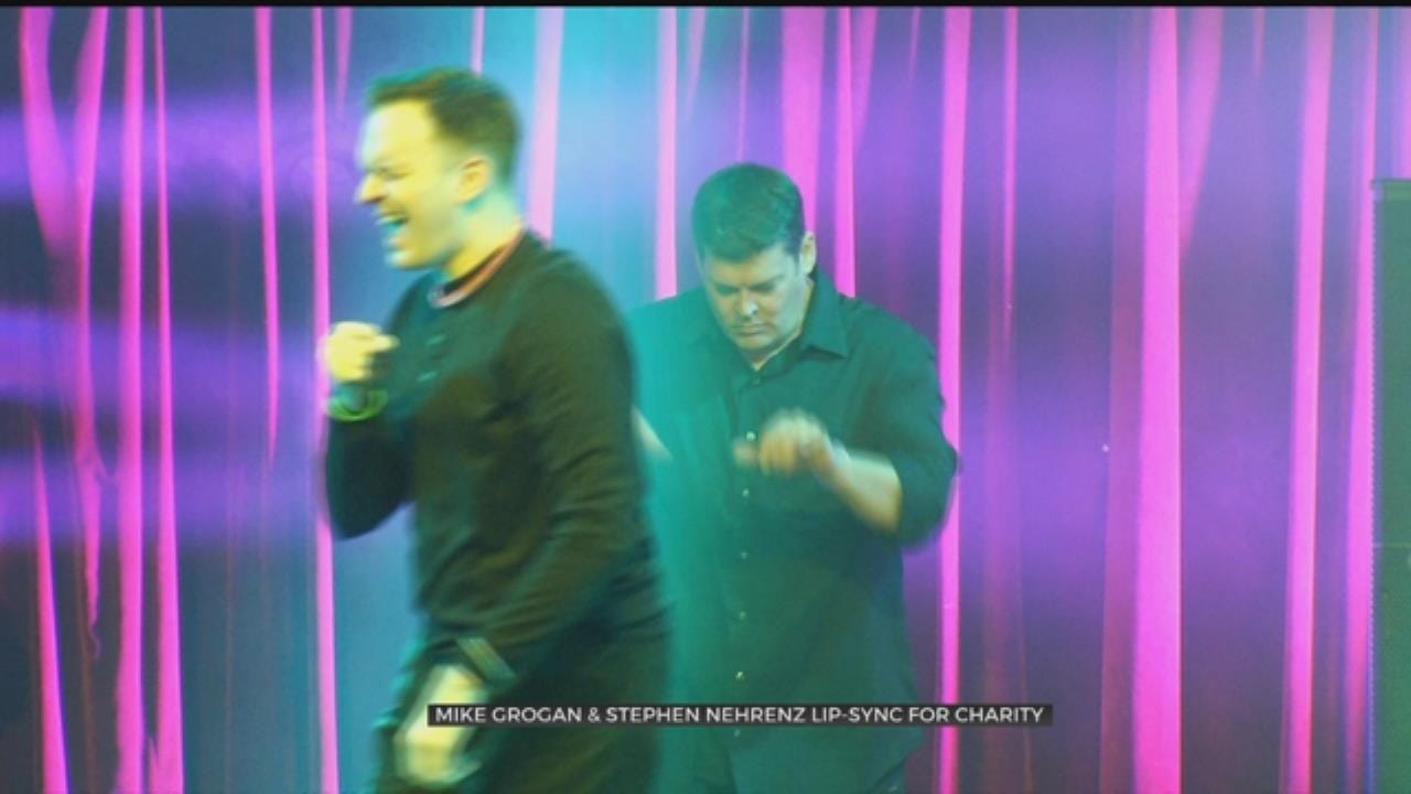 Mike Grogan & Stephen Nehrenz Join Lip Synch Battle For OK2Grow
