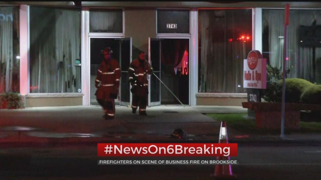Fire Damages Tulsa Nail Salon
