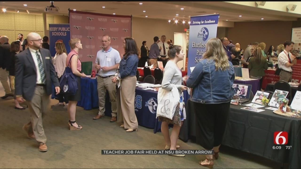 NSU Broken Arrow Hosts Teacher Job Fair