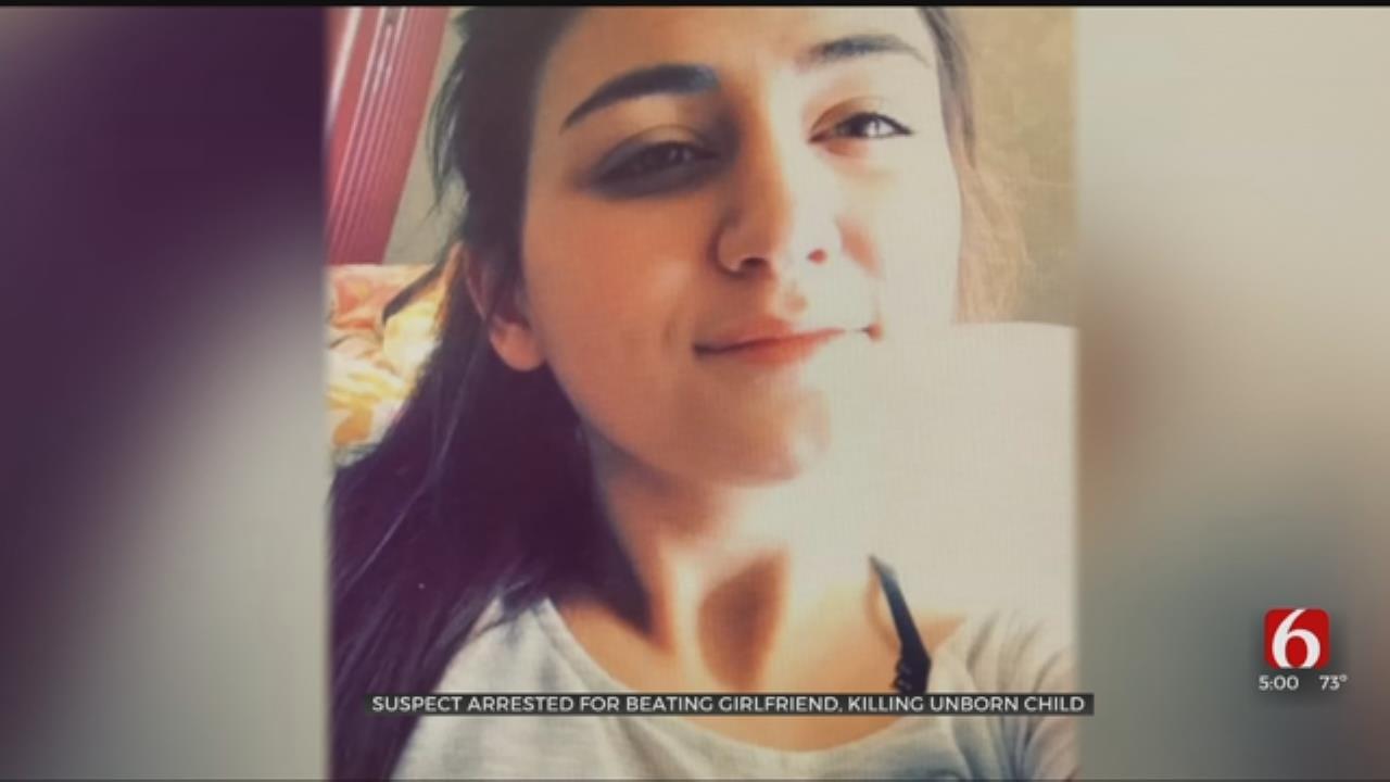 Tulsa Police: Man Beat Girlfriend, Killed Unborn Child