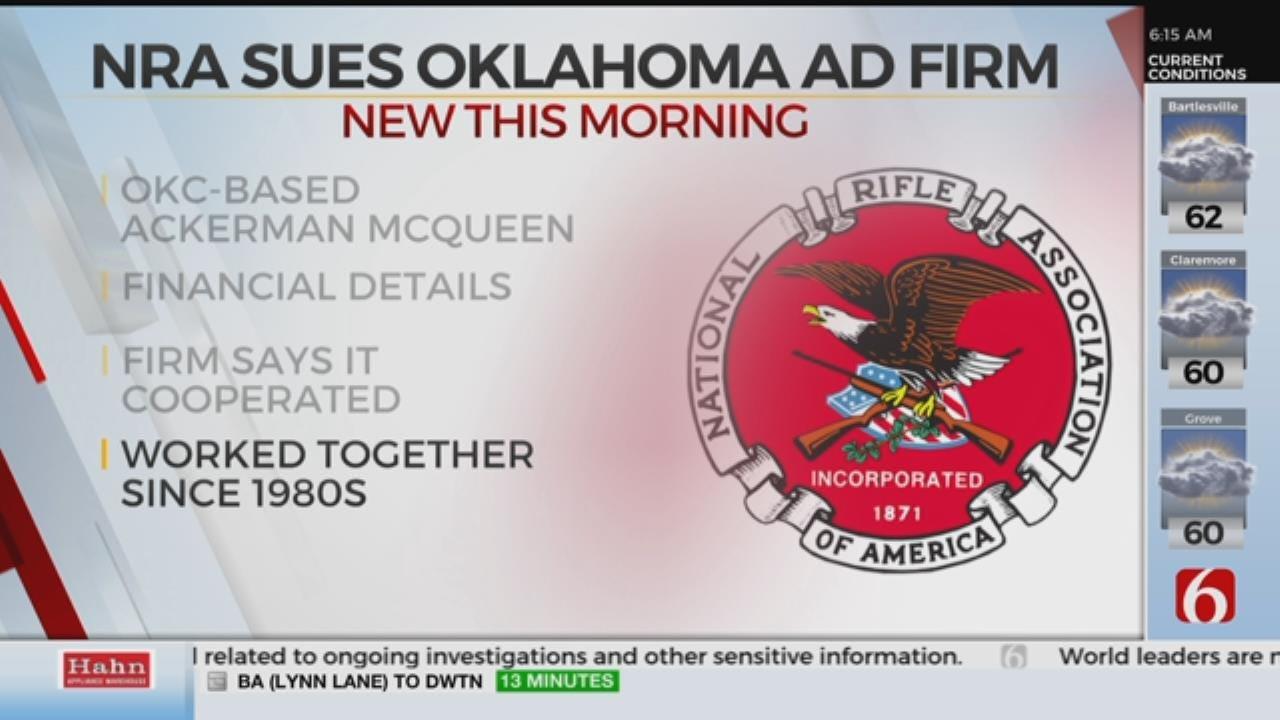 NRA Sues Oklahoma Company