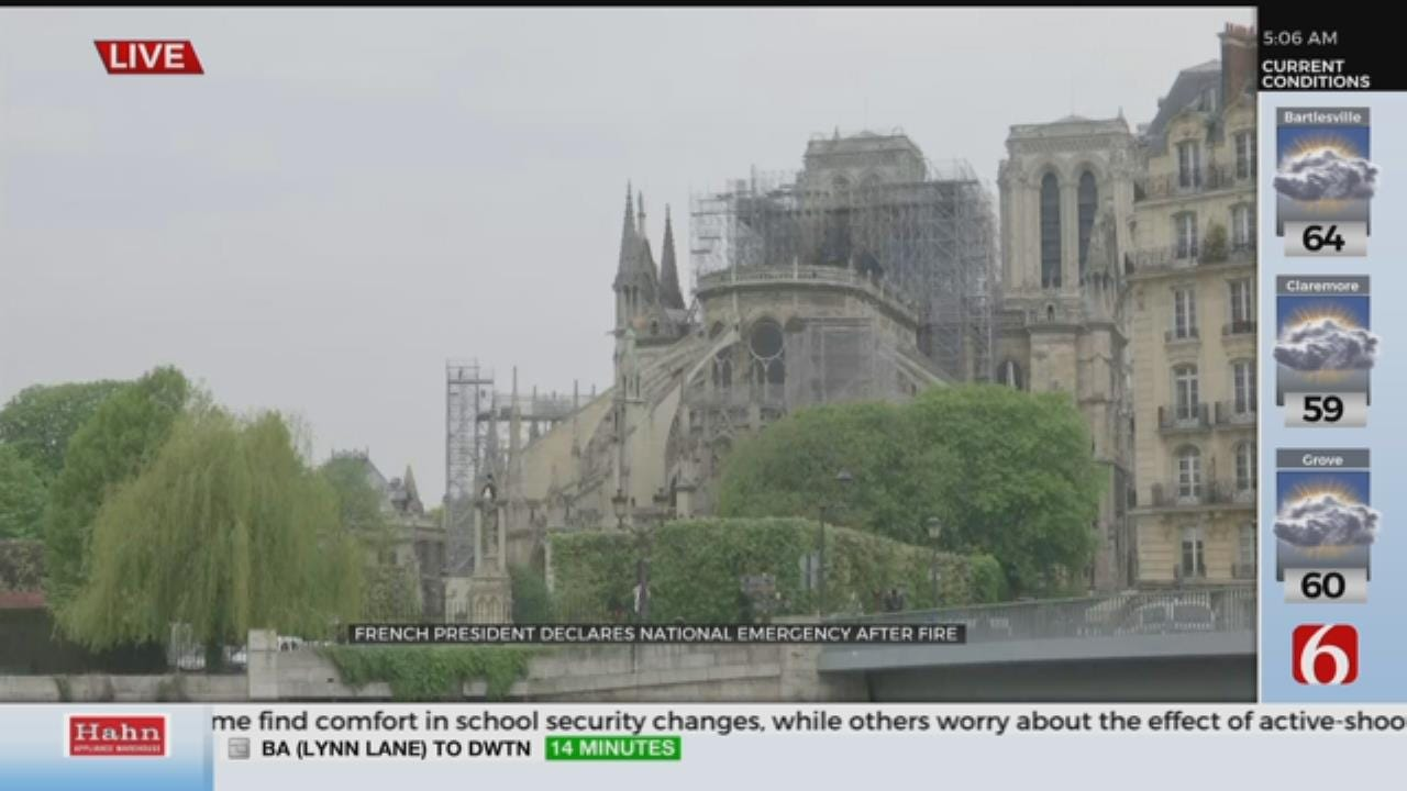 Notre Dame Fire Out But Much Work Ahead