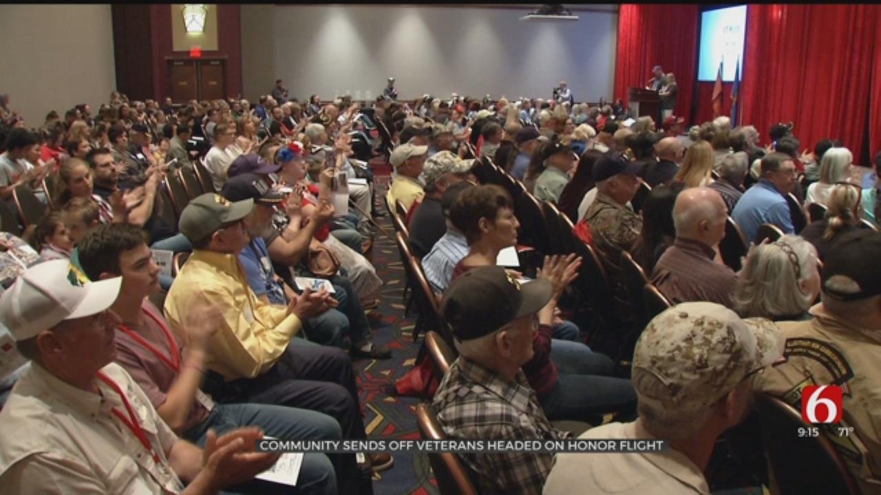 Honor Flight To Fly 75 Oklahoma Veterans To National Memorials