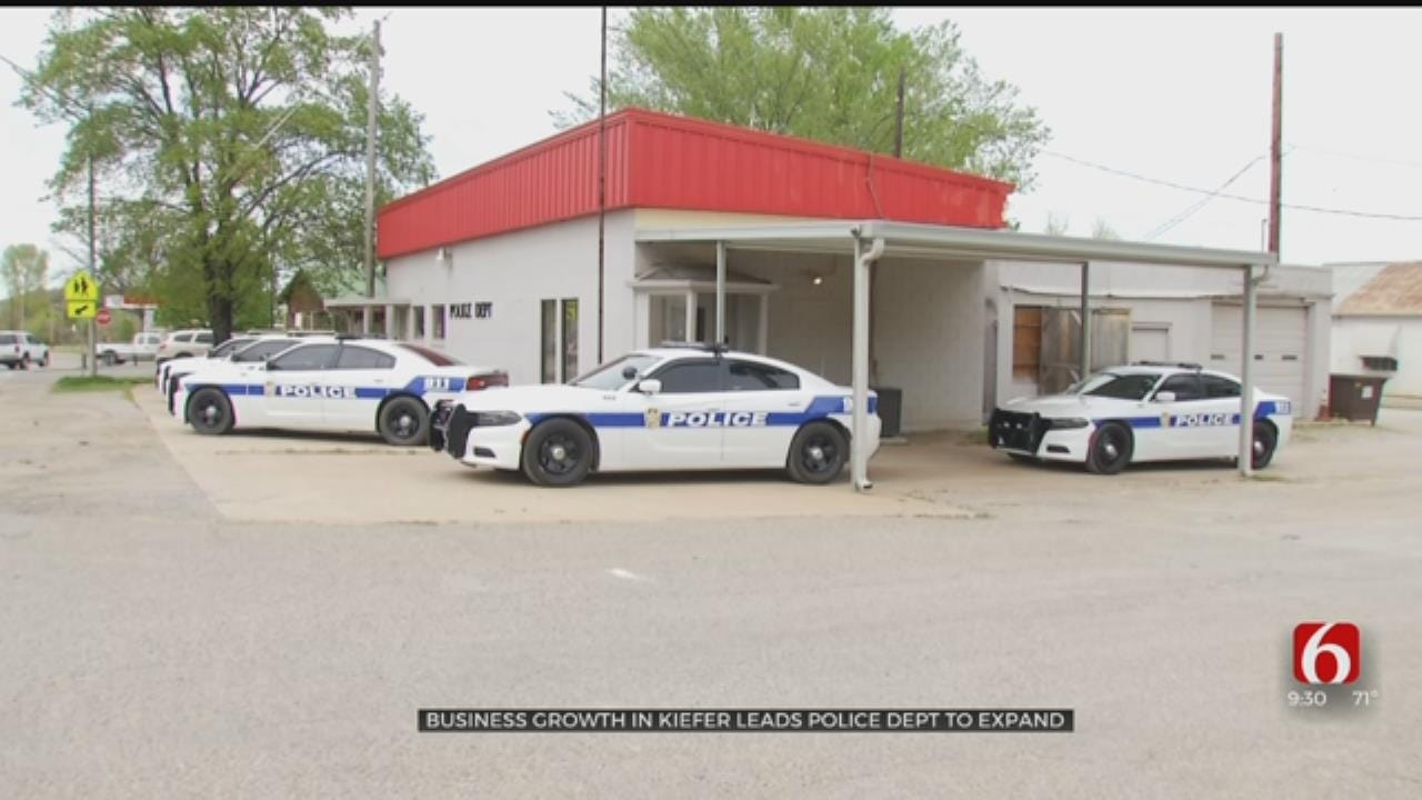 Town Of Kiefer Expanding Police Department
