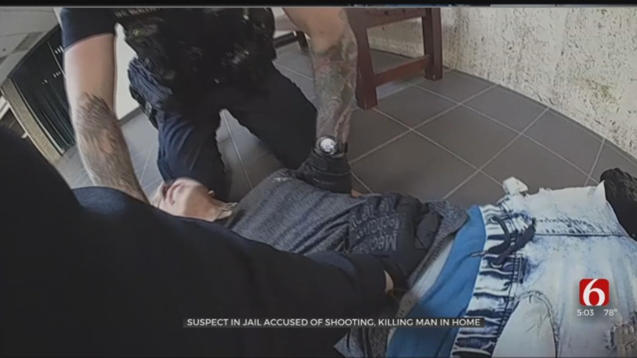 Video Shows Arrest Of Tulsa Murder Suspect