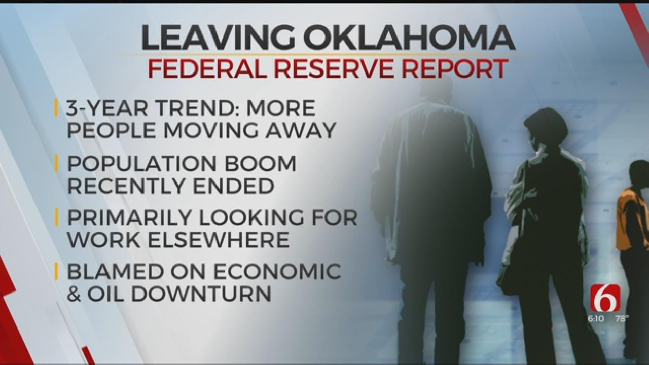 New Report Shows Oklahoma's Population On The Decline