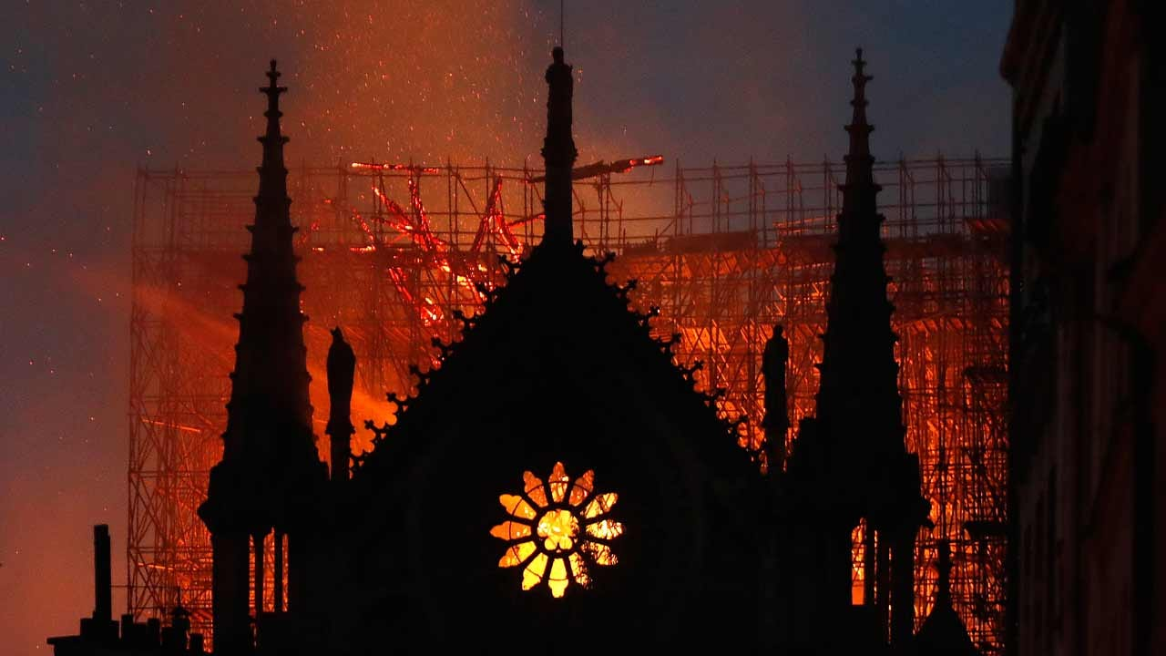 Tulsans React to Notre Dame Cathedral Fire