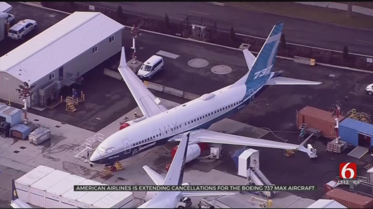 American Airlines Cancels All Flights On Boeing 737 MAX Through August 19