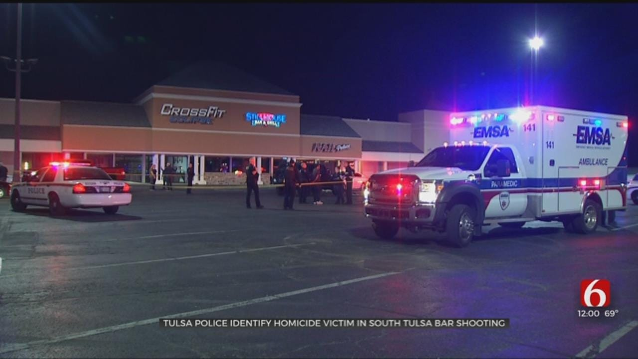 Police Identify Man Shot To Death In Tulsa Bar