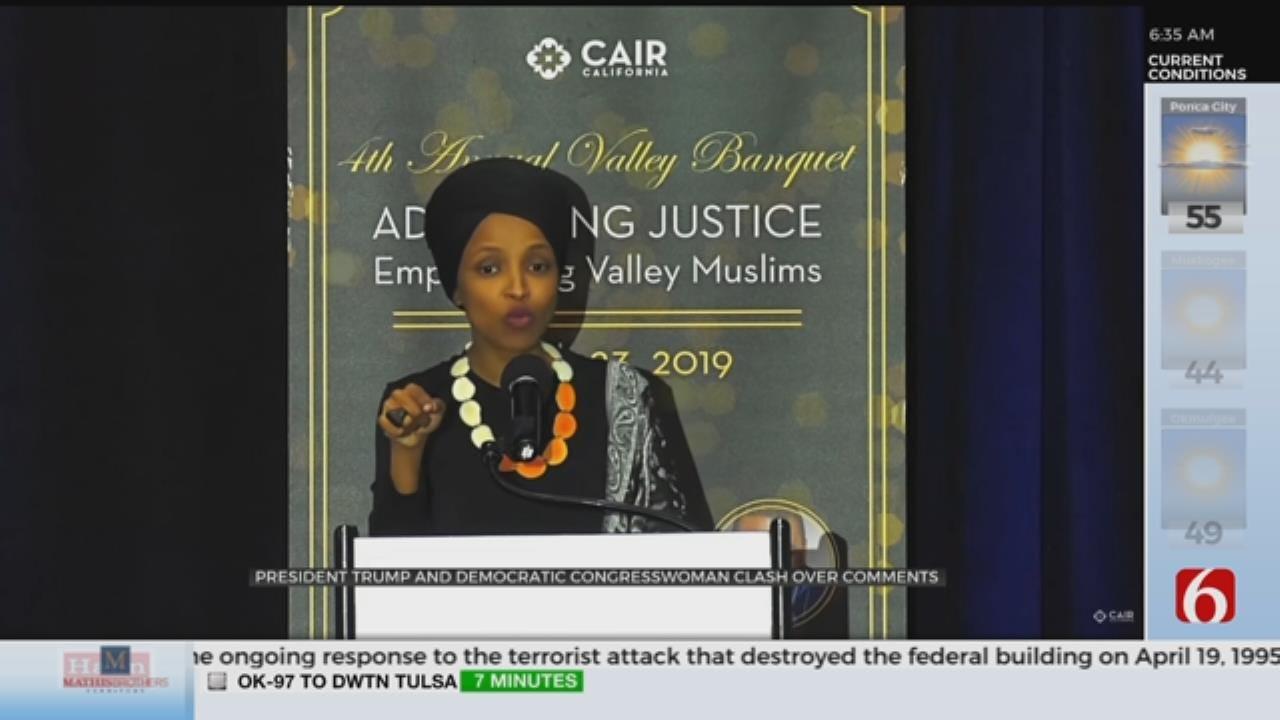 Ilhan Omar Says Death Threats Have Increased Since Trump's Tweet