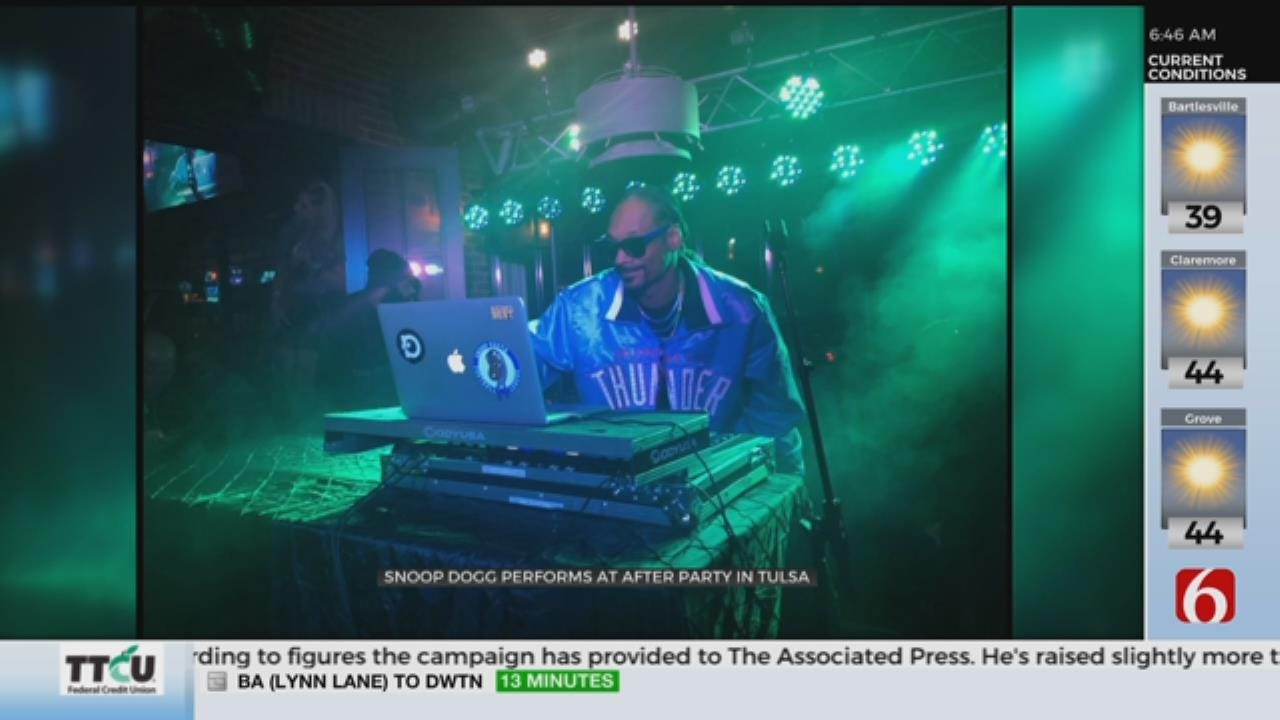 Snoop Dogg Packed Tulsa's Roosevelt's For After-Party