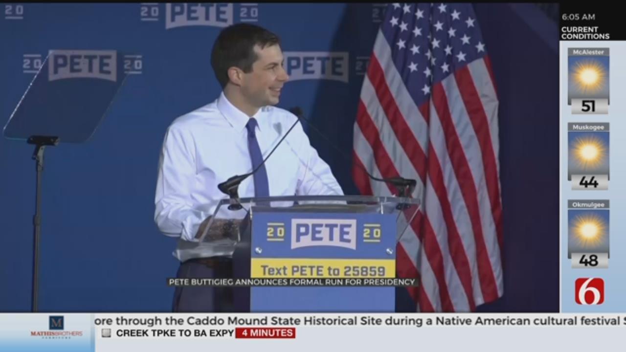 Pete Buttigieg Officially Enters 2020 Race