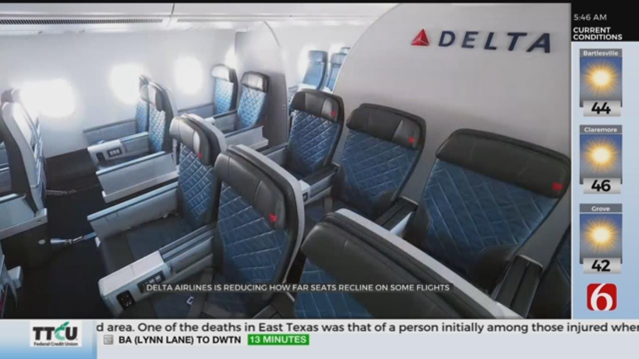 Reduced Recline on Airline Seats