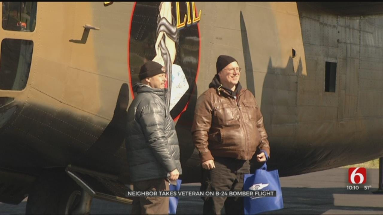 Oklahoma WWII Veteran Gets To Fly B-24 Bomber One More Time