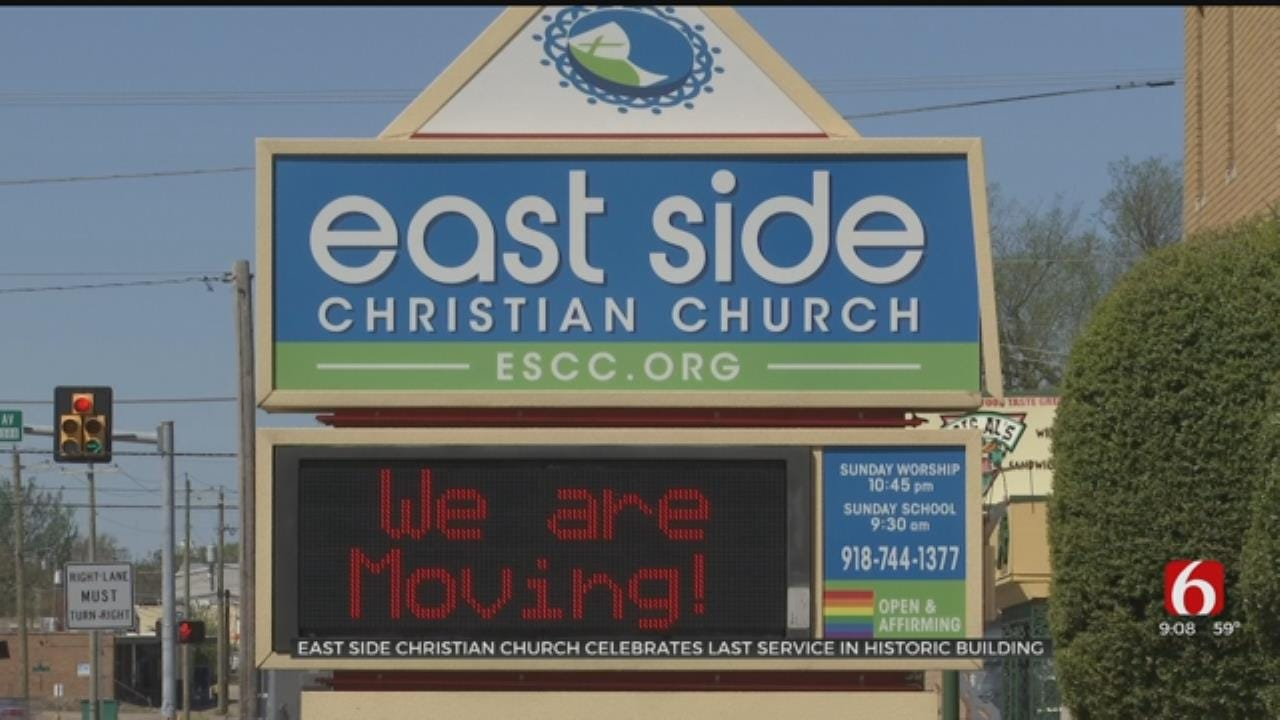 Tulsa's Eastside Christian Church Closes After 85 Years