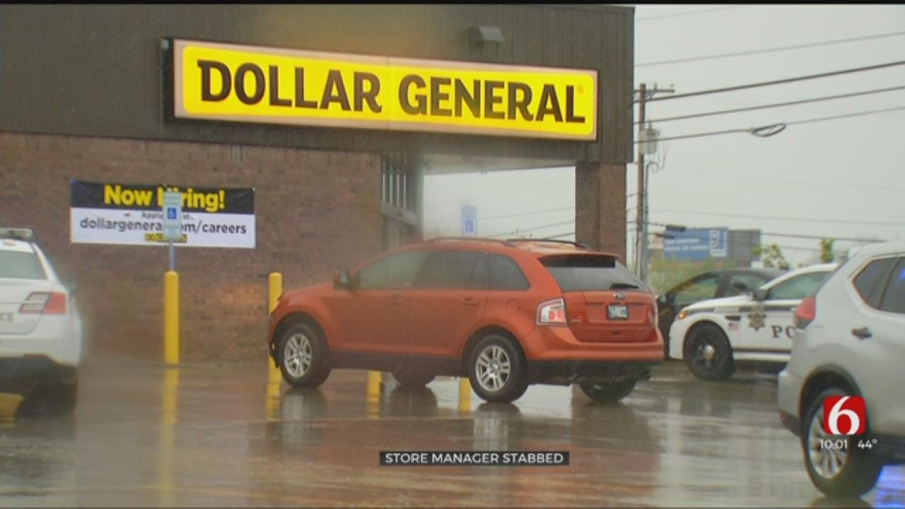 TPD: Suspect In Custody After Stabbing Manager At Dollar General